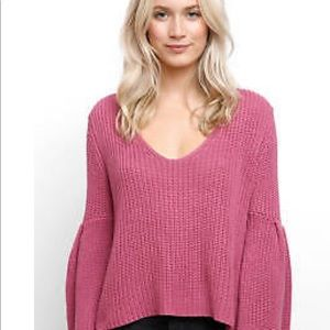 Free people, damsel sweater, size small